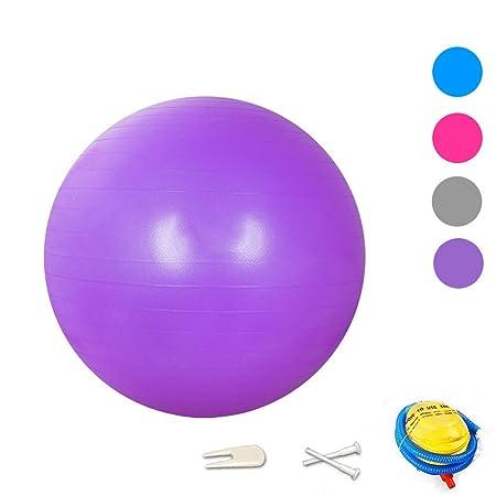 Wing Balón de Ejercicio Anti-explosión, 55cm/65cm/75cm Fitness ...