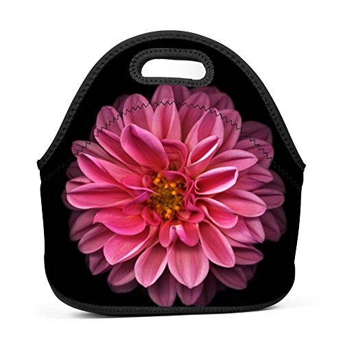 Used, Rose Red Daisy Lunch Bag Bento Pouch Lunchbox Portable for sale  Delivered anywhere in USA