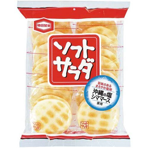 Kameda Seika Japanese Rice Cake, 20pcs/bag X 3bags [Japan Import]