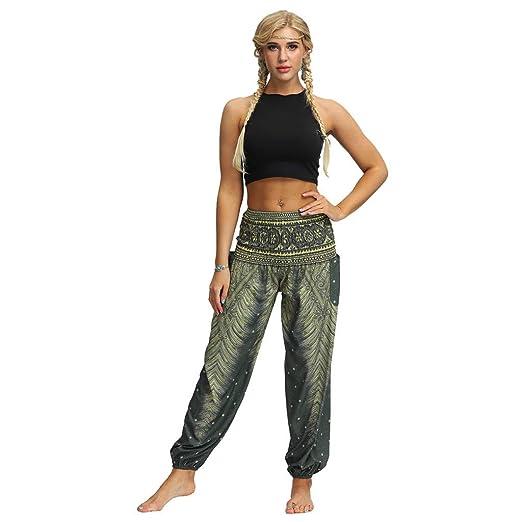 Amazon.com: PAQOZ Womens Yoga Pants, Men Women Casual Loose ...