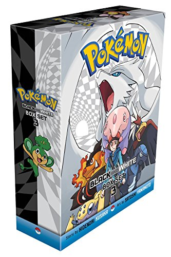 Pokemon Black and White Box Set 3: Includes Volumes 15-20 (3)