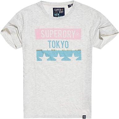 Superdry Tokyo Stars Portland tee Camiseta para Mujer: Amazon.es: Ropa y accesorios