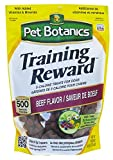 Pet Botanics Training Rewards Treats, Beef, 20 Ounces