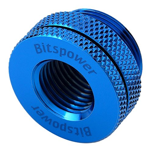 """Bitspower G1/4"""" CaseTop Water-Fill Set, Royal Blue"""