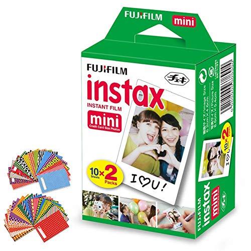 FujiFilm Instax Mini Instant Film 1 Pack - 20 Sheets + 60 As