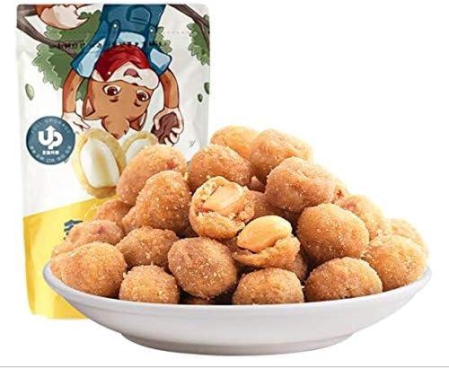 三只松鼠 多味花生 中国名物 おつまみ Daben® 大人気 坚果炒货 地方特产 休闲零食 花生米205g/袋