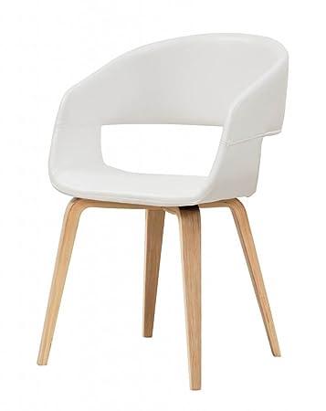 Esszimmerstuhl Stuhl Nova In WeißAmazon Interstil Mit Schalensitz xBtQrdCsh