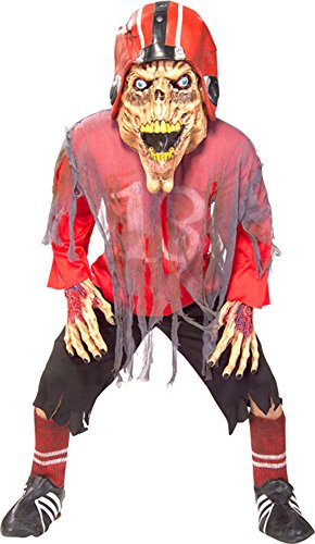 [Adult Scary Football Player Costume Size: Adult Standard Size] (Male Football Player Costume)