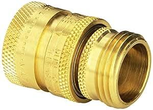 Dramm 22729 Heavy-Duty Quick Disconnect Brass