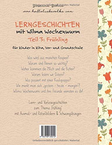 Lerngeschichten Mit Wilma Wochenwurm Teil 3 Frühling Amazon De