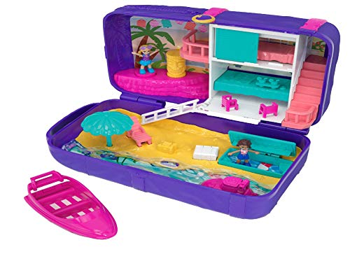 Polly Pocket Beach Vibes Figure, Multicolor