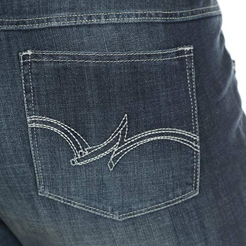 76c41b3e469 Wrangler Women s Size Plus Mid Rise Straight Jean - Choose SZ color ...