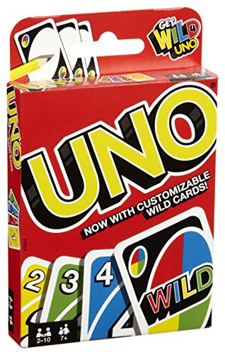 Mattel UNO Original Playing Card Game (Card Exciting Game)