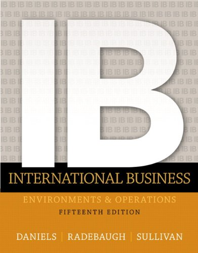 133457230 - International Business (15th Edition)