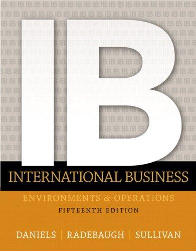 133457230 - International Business (15th Edition)