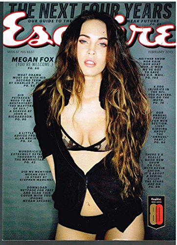 ESQUIRE Magazine (Feb 2013) Megan Fox (You're Welcome)