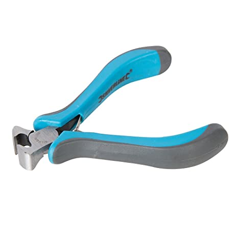 Silverline 250353 - Mini alicate de corte frontal (110 mm)