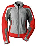 BMW Genuine Motorcycle Riding Women'S Airflow Jacket EU-40 |USA-10 Gray / Red