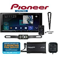 Pioneer AVH-2440NEX 7 DVD Receiver Apple CarPlay SiriusXM Tuner + Backup Cam and a SOTS Lanyard