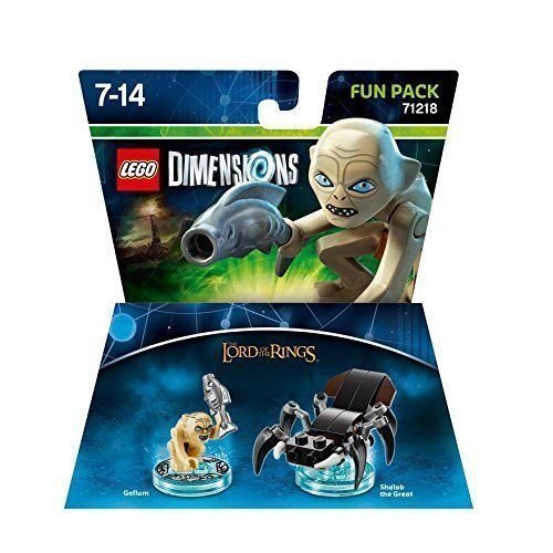 (USA Warehouse) LEGO DIMENSIONS LORD OF THE RINGS GOLLUM SHELOB THE GREAT FUN PACK 71218 NEWITEM#NO: 43E8E-UFE6 - The Usa Warehouse