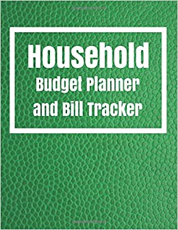 household budget planner and bill tracker household budget planner