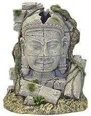 Rosewood Décor pour Aquarium Tête Sculptée en Ruines