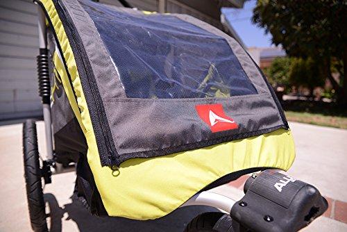 Allen Sports JTX-1 Trailer/Swivel Wheel Jogger, Green by Allen Sports (Image #9)