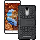 Mobile Mart Kickstand & Shock Proof Back Cover Case for Xiaomi Redmi Note 3