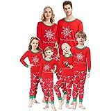 Matching Family Pajamas Christmas Boys and Girls Pyjamas 2 Piece PJs for Men M