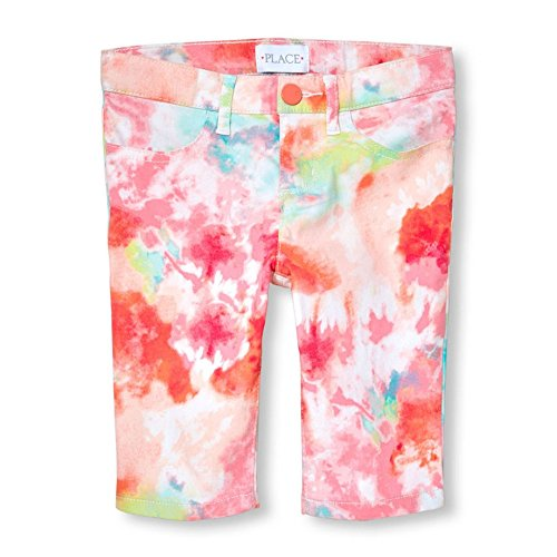 The Children's Place Toddler Girls' Fashion Shorts, Desert Flower 81857, (Childrens Place Girls Flower)
