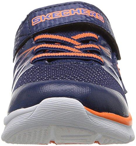 Skechers Skech-Lite-Fast Stepz, Zapatillas para Niños Azul (Nvor)