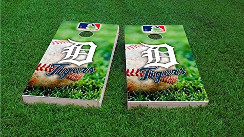 - Tailgate Pro's Detroit Baseball Cornhole Board Set - ACA Regulation Sized - Includes 8 All Weather Bags