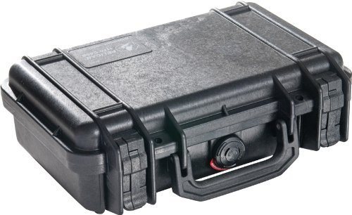 Pelican 1170 Black Watertight Hard Case with Pick-N-Pluck Foam, 1 Each ()