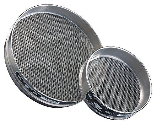 advantech-40ss8h-stainless-steel-half-sieve-8-diameter-40-mesh-size
