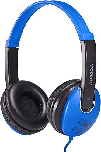 Groov-e GV590BB Kidz DJ Style Headphone – Blue Black