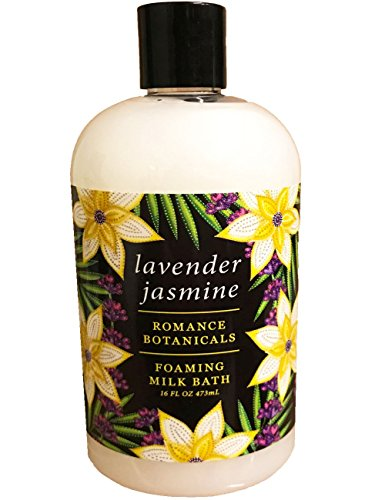Bath Jasmine Foaming (Greenwich Bay Trading Co. Foaming Milk Bath Romance Collection (Lavender Jasmine))