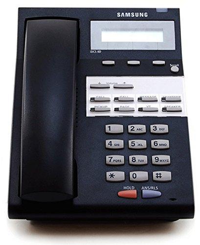 (Samsung iDCS 8D Black Display Phone (KPDF08SED/XAR) iDCS Falcon | Refurbished)