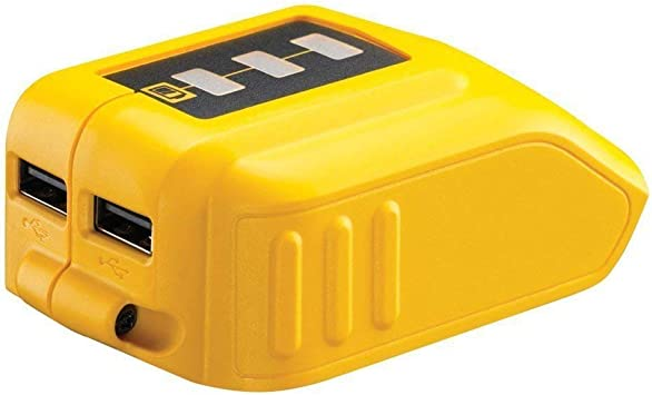 DCB090 USB Phone Charger Adapter LiIon Battery Power for Dewalt 12//20V