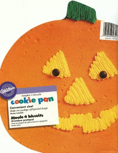 Wilton Pumpkin Cookie Pan (Recipe For Wilton Halloween Cookie Pan)