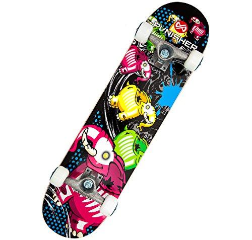 Punisher Skateboards Elephantasm  Complete 31-Inch Skateboard All Maple ()