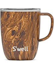 S'well Stainless Steel Travel Mug with Handle