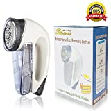 Lint Remover ACEPOW Fabric Defuzzer Pilling Shaver with 2 AA Batteries Operated