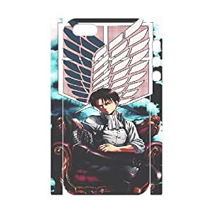 Protection Cover iphone5 5S 3D Cell Phone Case White Jhkmp Attack On Titan Personalized Durable Cases