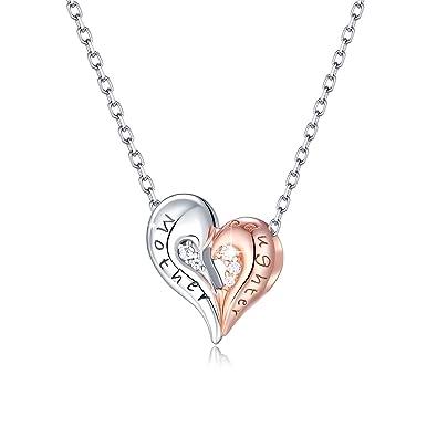 1b012babe78ad FOREVER QUEEN Collar del Corazón del Amor