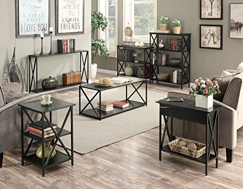 Convenience Concepts Tucson Electric Flip Top Table, Black by Convenience Concepts (Image #5)'