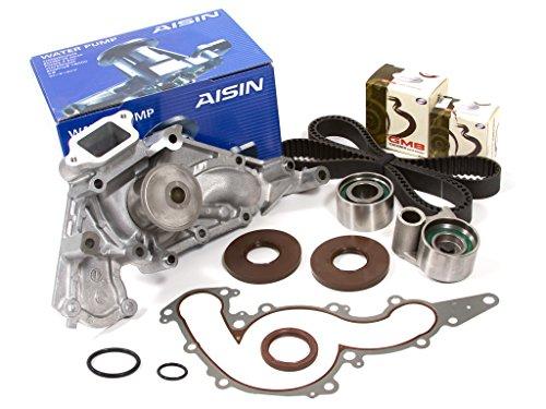 (Evergreen TBK298WPA Fits 98-07 Toyota Tundra Lexus LS LX GS GX SC 4.7L 2UZFE Timing Belt AISIN Water Pump Kit)