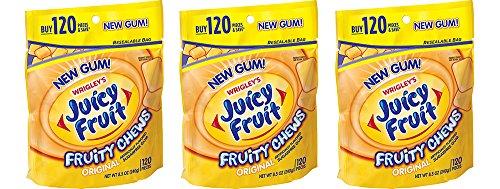 Juicy Fruit Fruity Chews AwDKl Original  - Sugar Free Fruit Chews Shopping Results