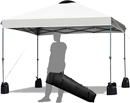 Tangkula 10 x10 Ft Outdoor Pop up Canopy Tent