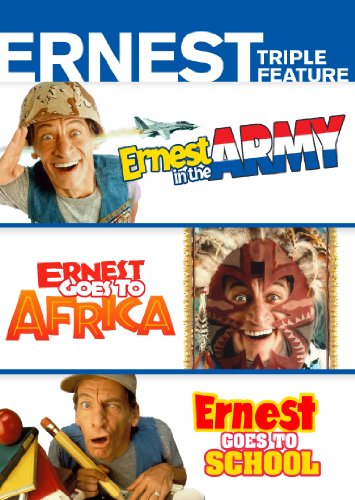 Widescreen Media Cabinet - Ernest Triple Feature (Ernest in the Army / Ernest Goes to School / Ernest Goes to Africa)
