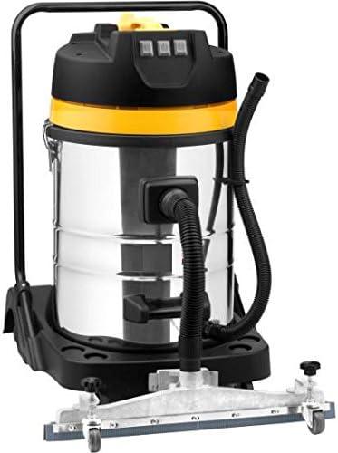Syntrox Germany 3900 Watt 80 litros de acero inoxidable con la aspiradora industrial aspirador mojado y seco aspiradora: Amazon.es: Bricolaje y herramientas
